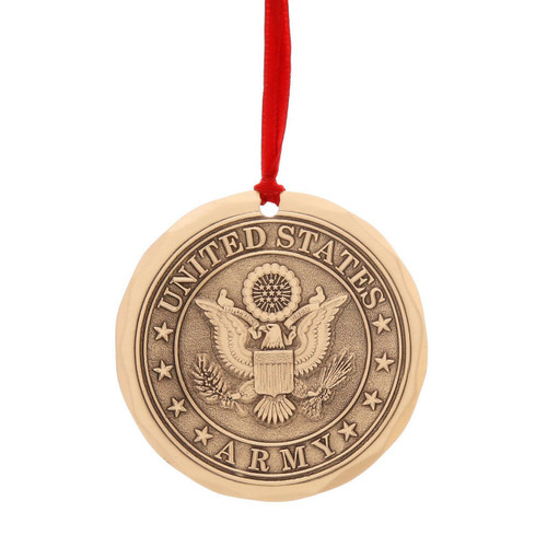 US Army Ornament (Bronze)