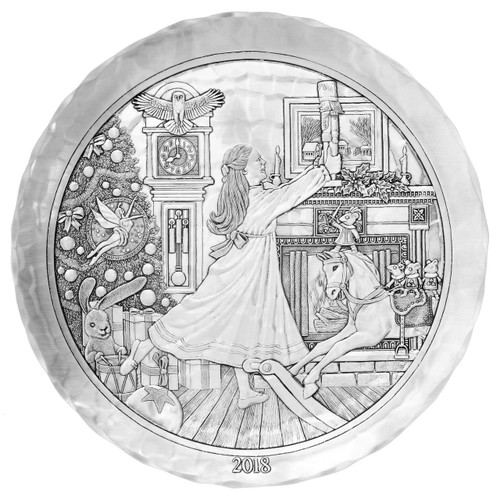 2018 Annual Plate - The Nutcracker Story (Pewter)