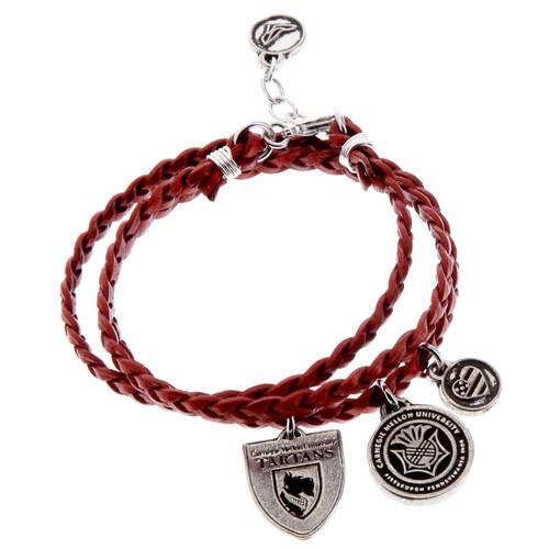 Carnegie Mellon Wrap Bracelet