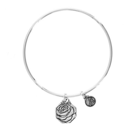Rose Love Bangle Bracelet