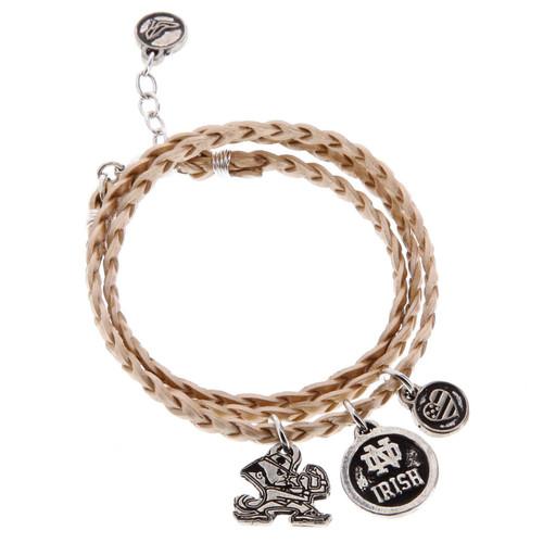 Notre Dame University Wrap Bracelet