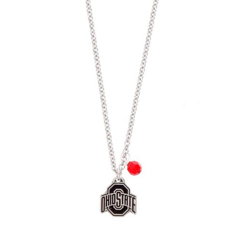 Ohio State Necklace