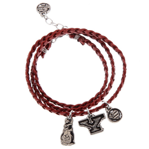 Youngstown State Wrap Bracelet