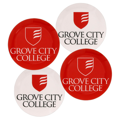 Grove City College Coaster Set of 4