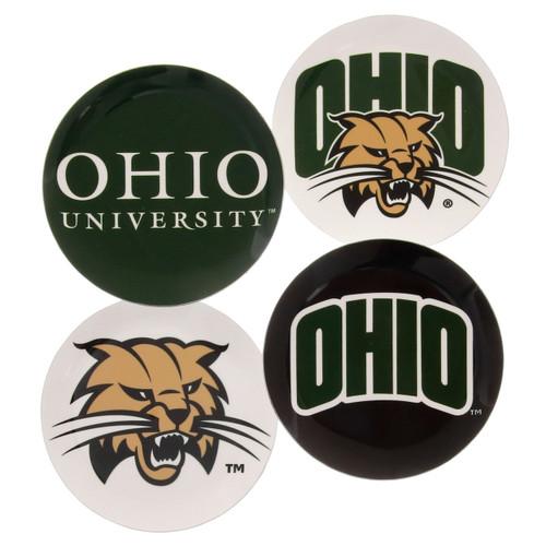 Ohio University Coaster Set of 4
