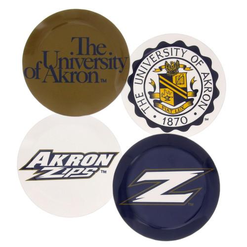 University of Akron Coaster Set of 4