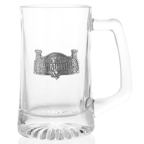 Pittsburgh Penguins Back to Back Beer Mug