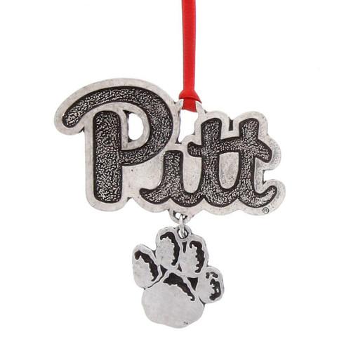 University of Pittsburgh Dangling Ornament