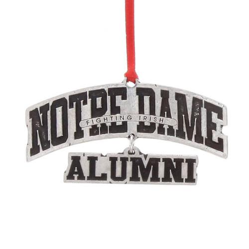 Notre Dame Alumni Ornament