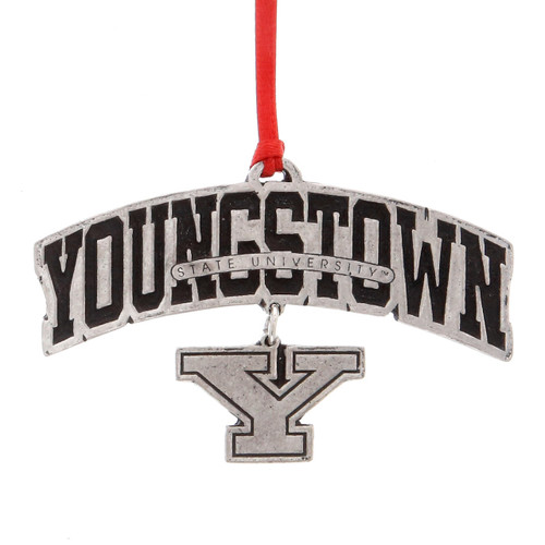 Youngstown State Dangling Ornament