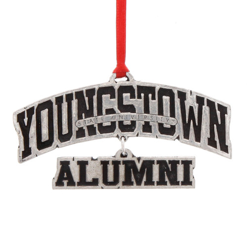 Youngstown State Alumni Dangling Ornament