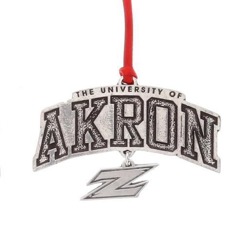 University of Akron ZIP Dangling Ornament