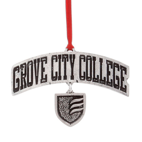 Grove City College Dangling Ornament