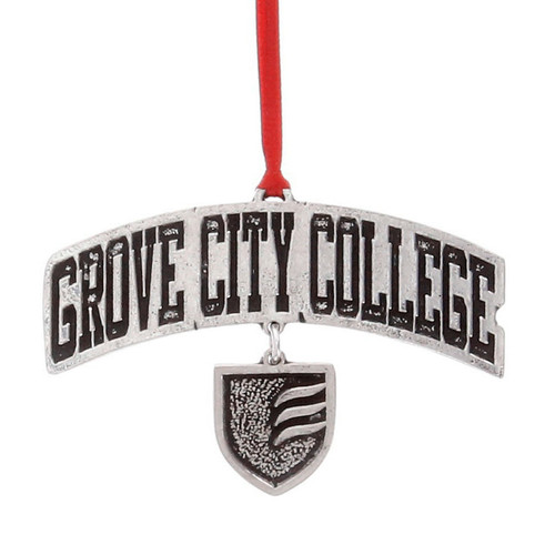Grove City College Dangling Ornament