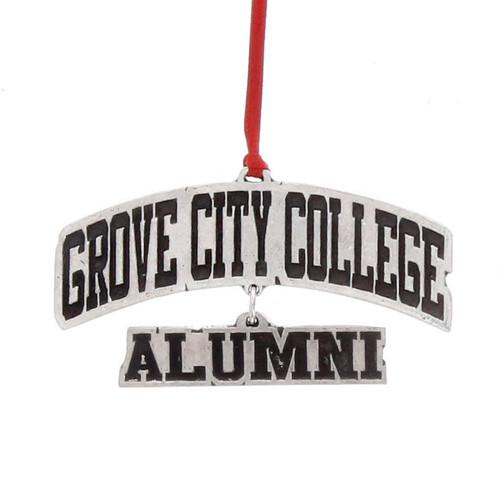 Grove City College Alumni Dangle Ornament