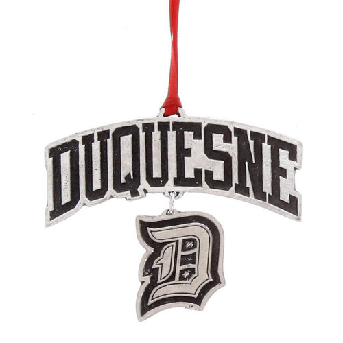 Duquesne University Logo Dangling Ornament