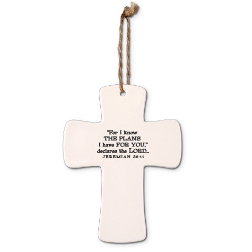 Hope Cross Ornament