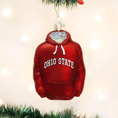 Ohio State Hoodie Ornament