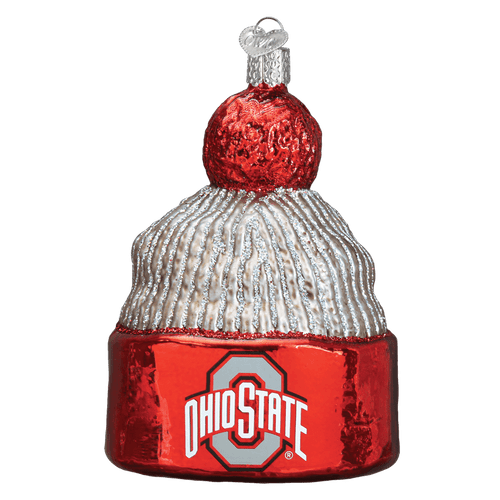 Ohio State University Beanie Ornament