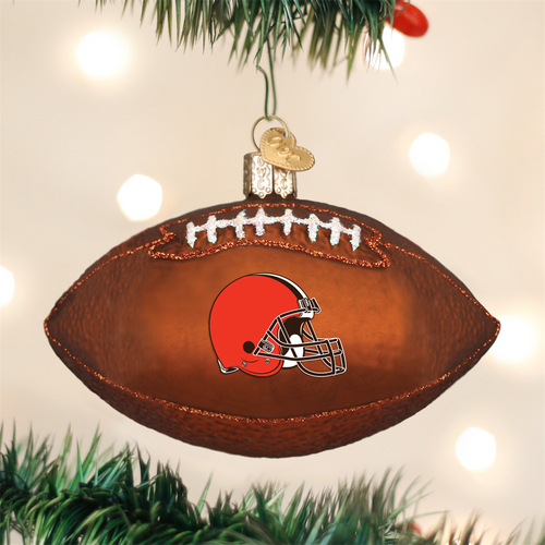 Cleveland Browns Football Ornament