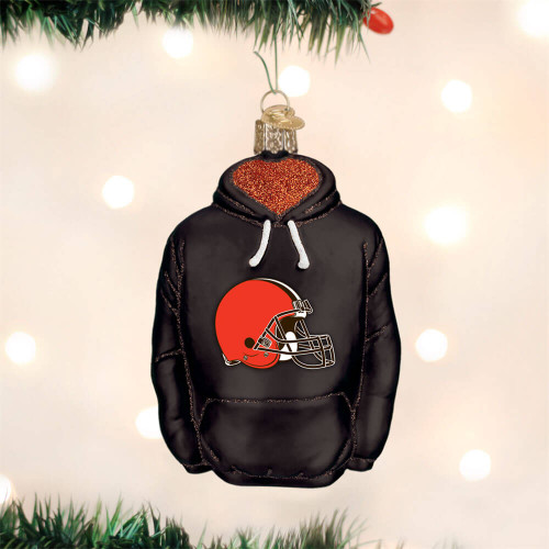 Cleveland Browns Hoodie Ornament
