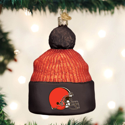 Cleveland Browns Beanie Ornament