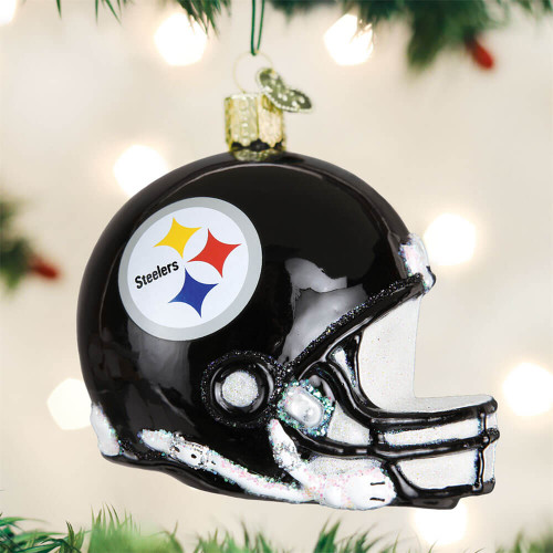 Pittsburgh Steelers Helmet Ornament