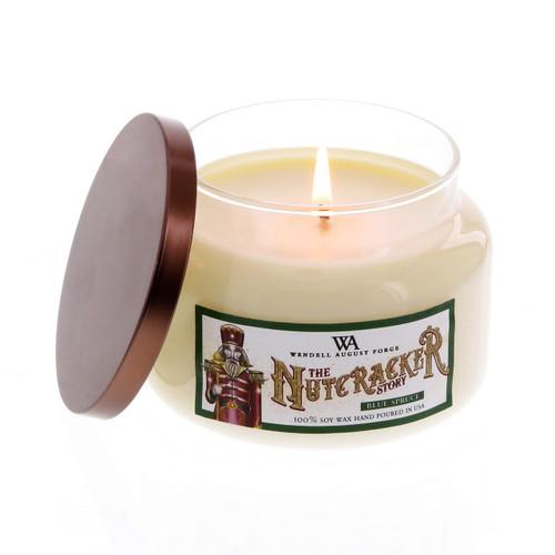Nutcracker 8oz. Candle in Glass Jar