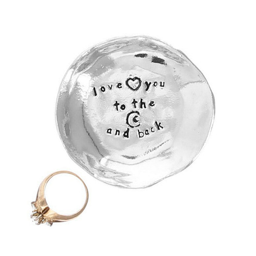 Love You To The Moon Large Charm Bowl