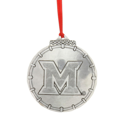 Miami of Ohio Christmas Ornament Wendell August