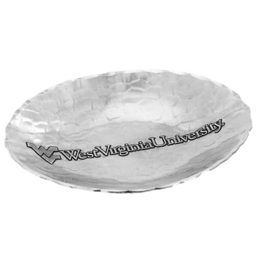 West Virginia University Small Oval Dish