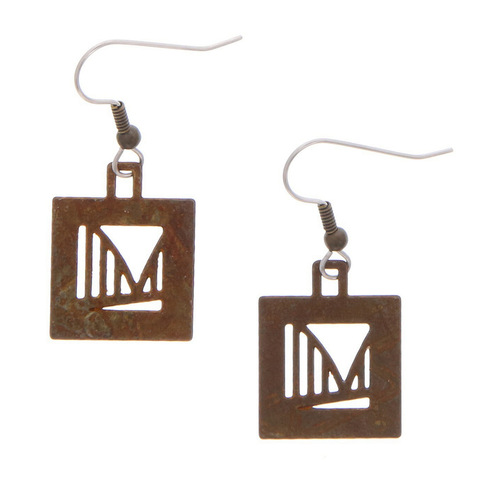 Arched Bridge Earring