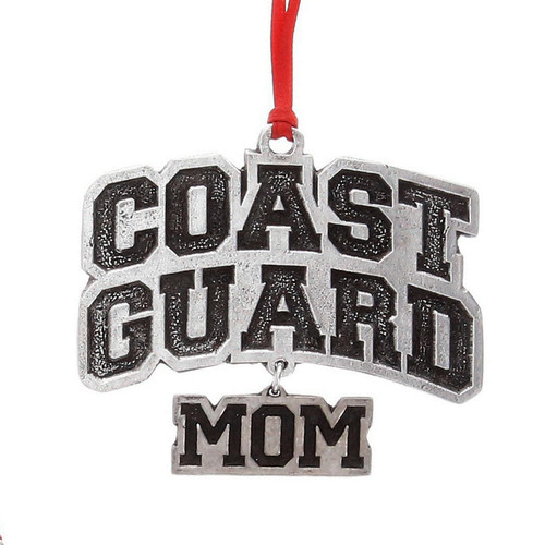 US Coast Guard Mom Ornament Wendell August