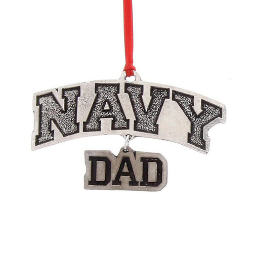 US Navy Dad Ornament Wendell August