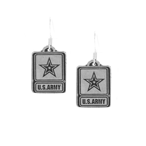 US Army Earrings Wendell August