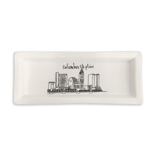 Columbus Small Rectangle Tray Wendell August