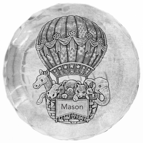 Baby Zoo Balloon Coaster Wendell August