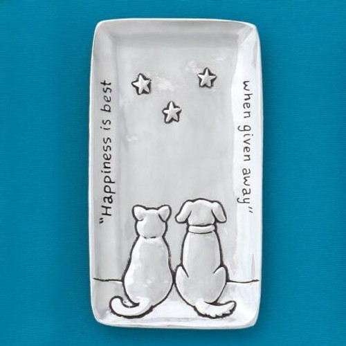 Cat and Dog Tiny Tray Wendell August