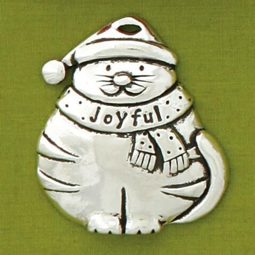 Cat Joyful Ornament Wendell August