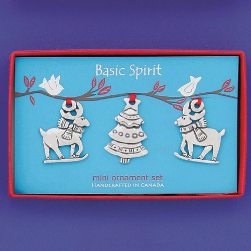 Mini Reindeer Christmas Ornaments