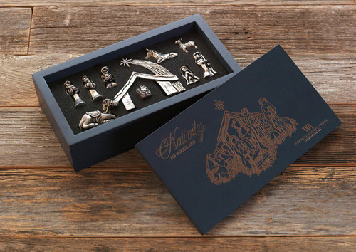Mini Nativity 10-Piece Boxed Set Wendell August