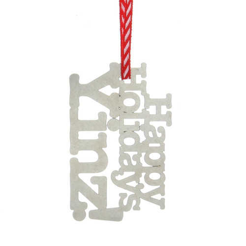 Happy Holiday Yinz Pittsburgh Ornament