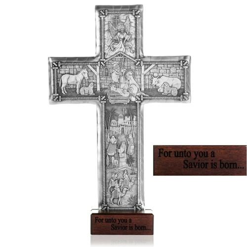 Christmas Cross Aluminum Wendell August