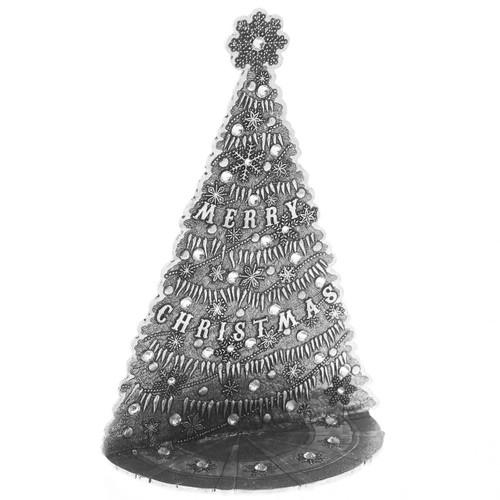 The Magic Christmas Village Icicle Tree- Medium Aluminum Wendell August