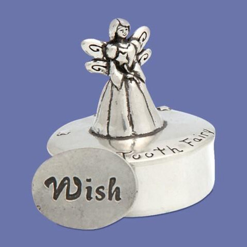Tooth Fairy Box with Coin Wendell August
