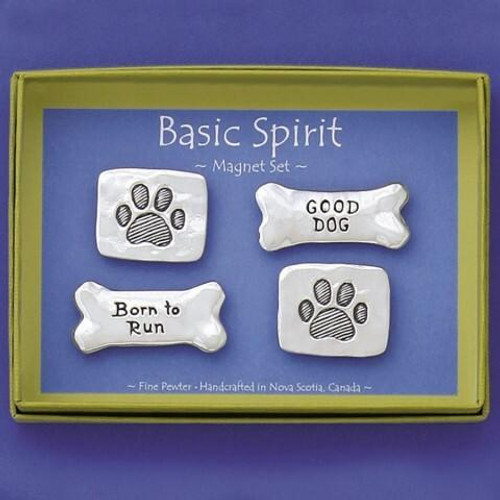 Paw Prints 4-Piece Magnet Set Wendell August