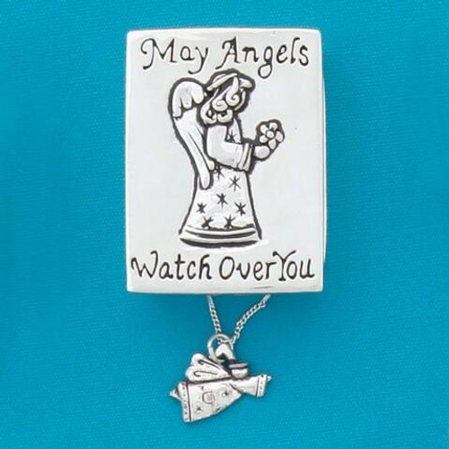 Angels Wish Box with Angel Necklace Wendell August
