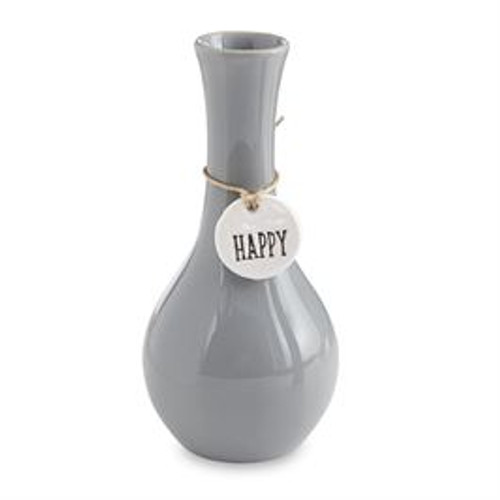 Happy Charm Bud Vase