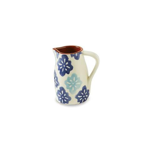 Medallion Pitcher Vase
