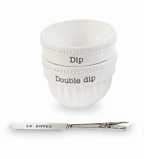 So Dipped Stacked Dip Cup Set Wendell August